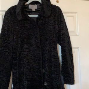 Ann Taylor size medium medium black coat